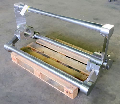 Altos 3 roller bar horizontal dough mixer with control panel, disconnect panel, and extra bar assembly. (More Information Coming Soon!)