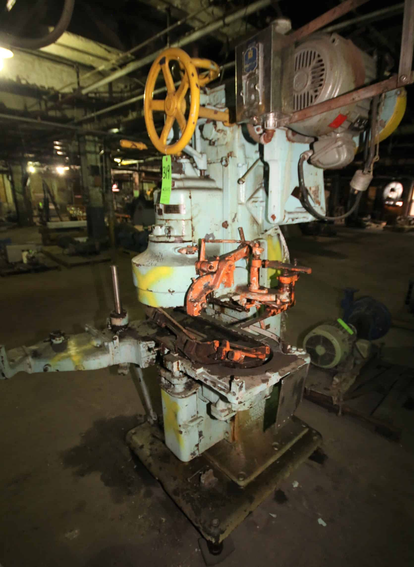 Canco Can Seamer / Closing Machine, Model 0-8, SN 30501, (Parts Machine)