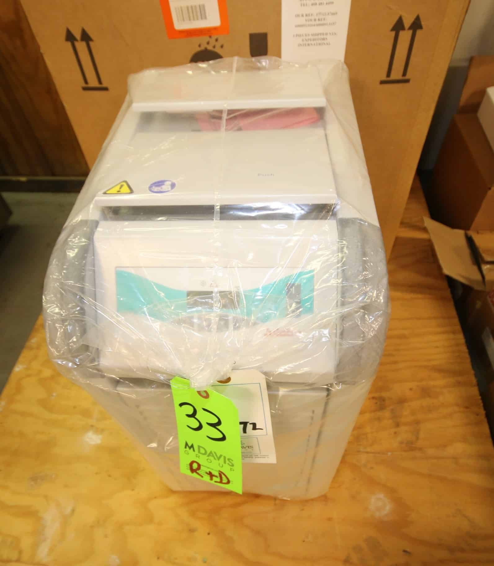 NIB Julabo Recirculating Cooler, Model FL601, SN 10257293, Order No. 9661006, 115V, -20 to 40°C, (Ideal for routine cooling applications within the laboratory and industry. Features a PID control temperature stability of is ±0.5°C and a tank capacity of 5.5 to 8L)