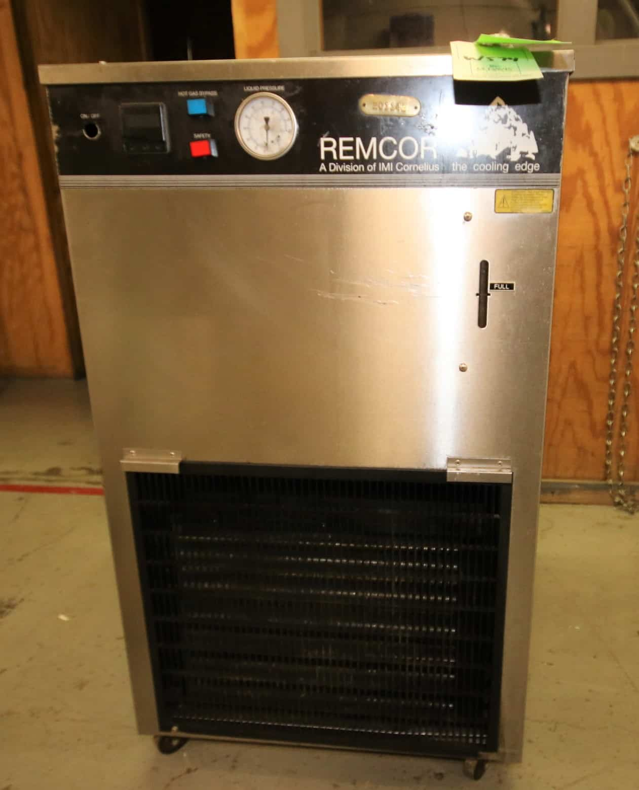 Cornelius / Remcor S/S Portable Recirculating Liquid Chillers, Model CH1001A DX, 230V Single Phase