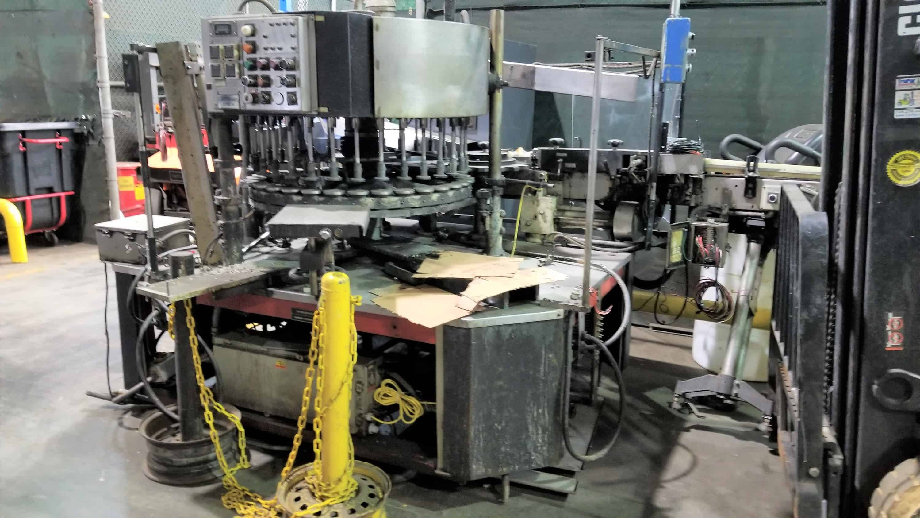 Krones Rotary In-Line Labeler, Model Canmatic, Model 80-A09, ( (Note: Missing Some Parts), (Located in Main Packaging Area)