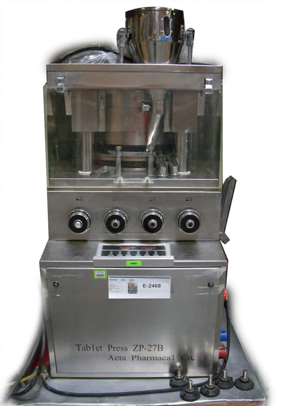 Tablet Press ZP-27B (LOCATED IN ARIZONA) ***CPPS***
