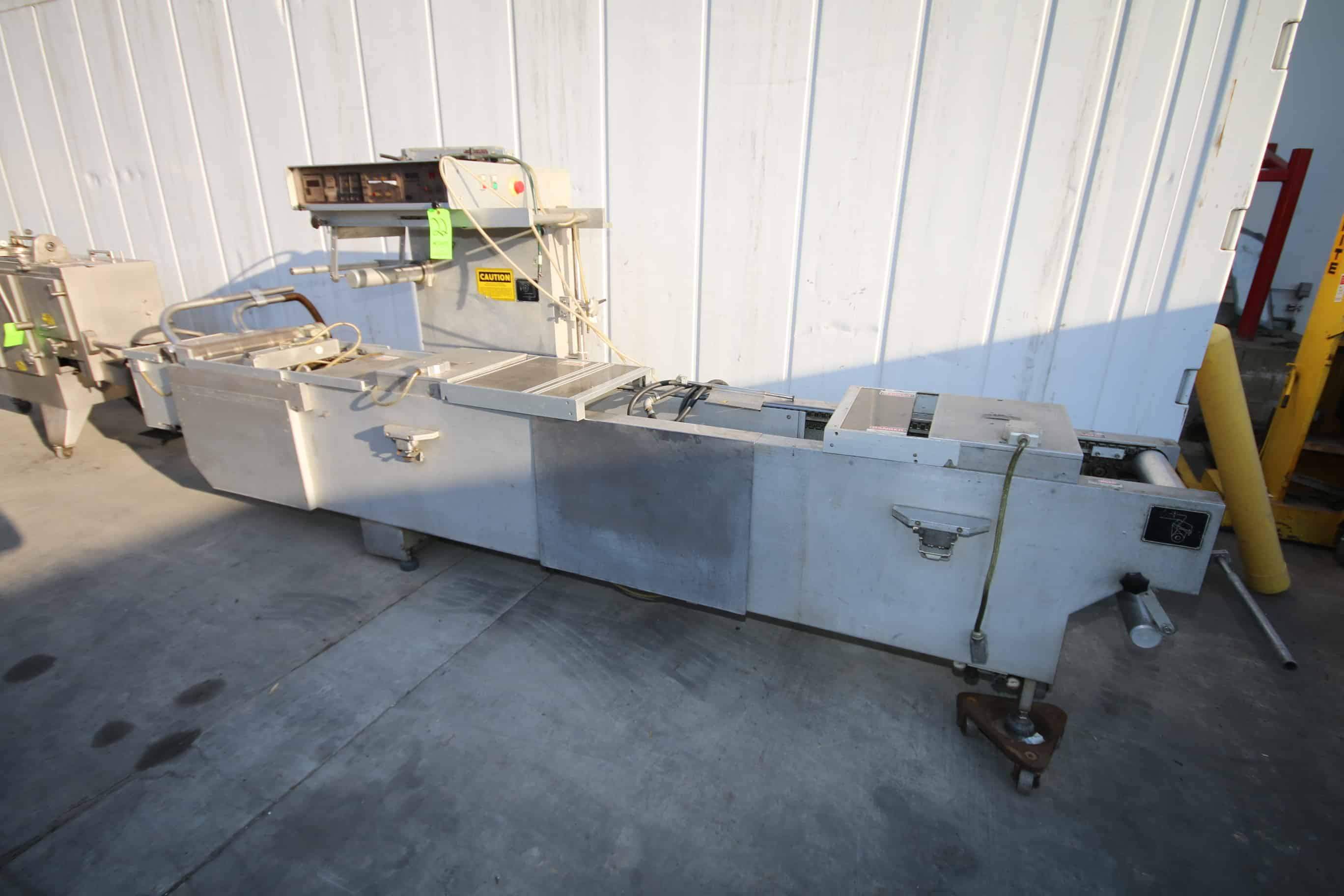 Multivac Flow Wrapper, Type:  M855EPC, S/N 1092/100, 220 Volts, 3 Phase