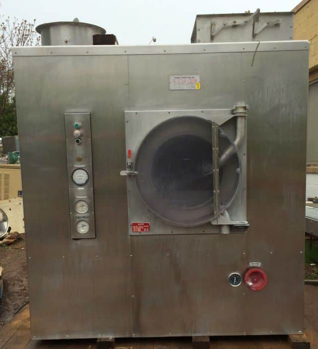 """Thomas Engineering 60"""" Accelacota Coating System. Model:  60-111, Serial: 542  60"""" Diameter.  Comes with Spray Arm . As shown in photos (Located in New York)***NYINC***"""
