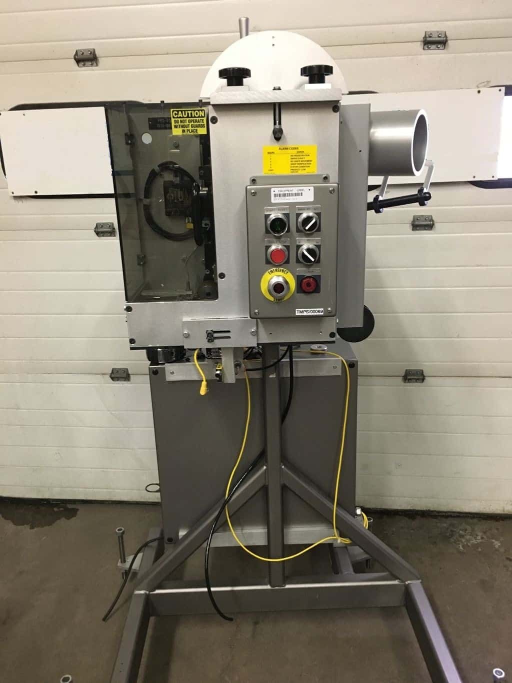 George Gordon Desiccant Inserter.  (Pillow Type)  Model:  PPS-250, Serial:  1510-0982.  As shown in photos. (Located in New York)***NYINC***