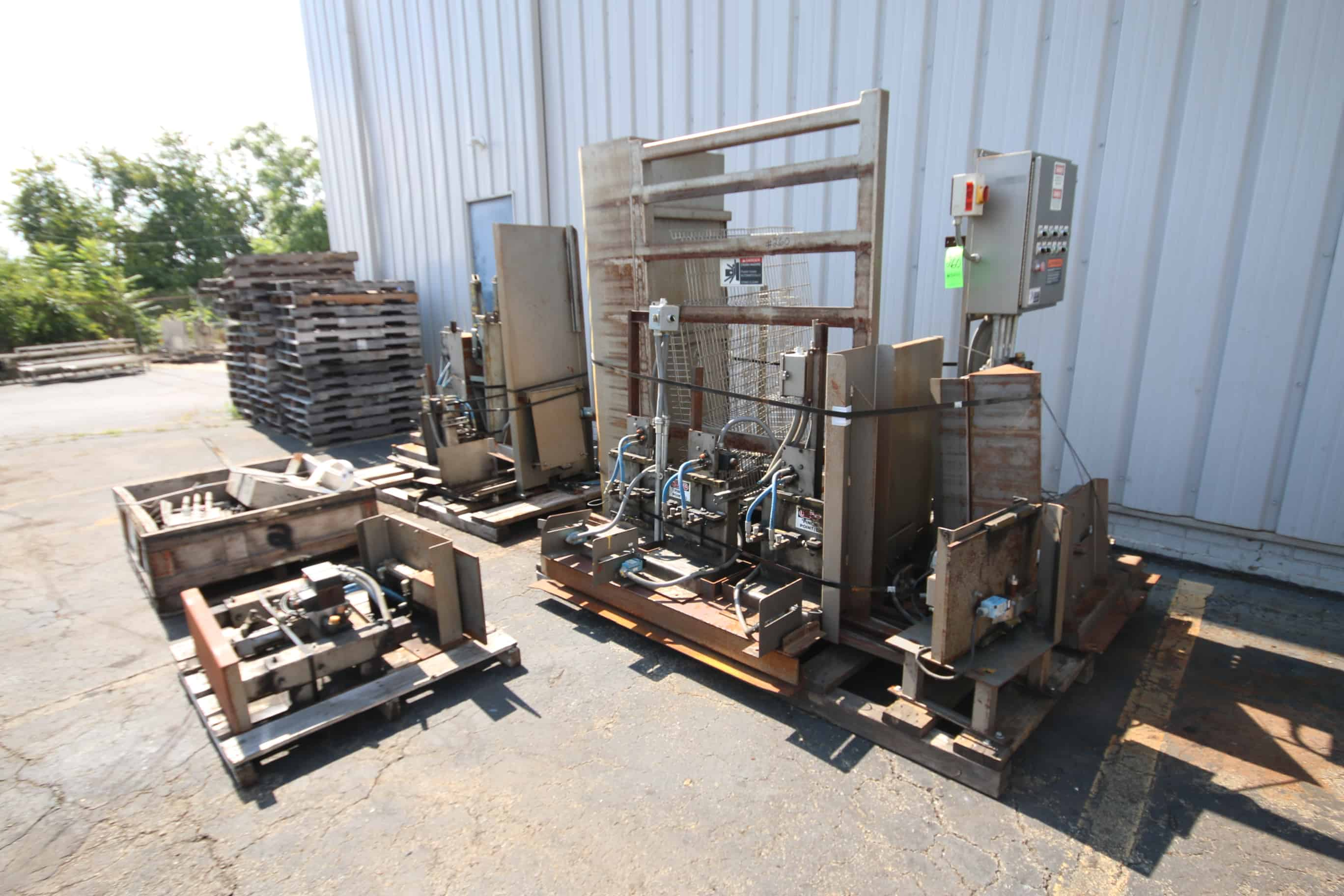 Cannon Case Palletizer Components include Allen Bradley SLC 5/01 CPU Controls (Stock 152)(Located in Pittsburgh)***NUTRI***