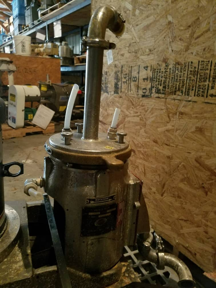 """Premier Mill Model KSIF Colloid Mill. Equipped with 3"""" rotor. 5/3 HP. (Located in New Jersey)***ECR***"""