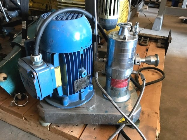 IKA Dispax Reactor model DR2000/4 Inline High Shear Mixing/Milling unit.(Located in New Jersey)***ECR***