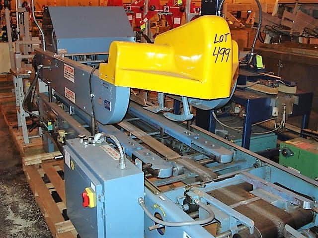 "Elliott Case Sealer, Model # 85-AT, S/N 93-12-21, automatic top & bottom case taper with index gate and 2"" tape head (top only) (Located in South Carolina)***NORTH***"