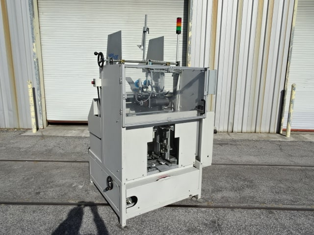 "Wexxar Tray Former for Self-Locking Trays, Model # AT-SL, SN 1543, quick-change / current mandrel is approx. 17-3/4"" x 11-1/2"" / GE Fanuc PLC (Located in South Carolina)***NORTH***"