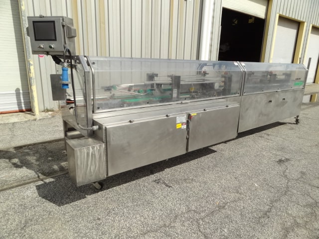 KlikLok Genesis Tri-flap Carton Sealer, Model # GLC, S/N 165, stainless steel unit for tri-seal cartons / Nordson hot melt glue (Located in South Carolina)***NORTH***