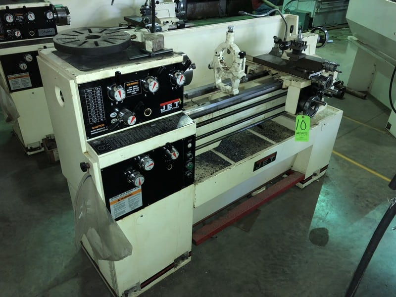 "Jet Lathe, M/N GH-1440W-3, S/N 608W1658W, with Aprox. 55"" Working Area"