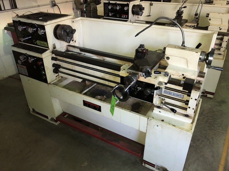 "Jet Lathe, M/N GH-1340W-3, S/N 608W1642W, with Aprox. 55"" Working Area 12-1"