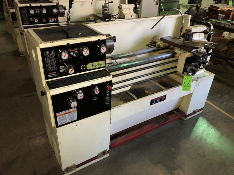 "1Jet Lathe, M/N GH-1340W-3, S/N 608W1642W, with Aprox. 55"" Working Area 2-2"