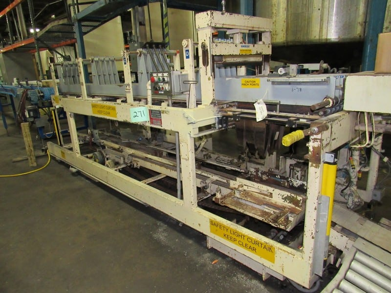 Drop  Case Packer - Lynch-Machinery Miller-Hydro with spare parts and manuals