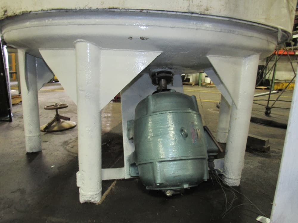 "500 Gallon Stainless Steel Tank cone bottom, 3"" discharge valve Free removal and loading"