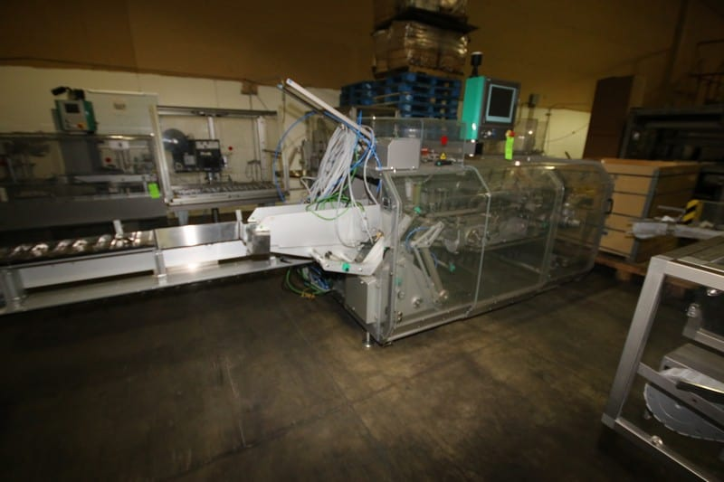 Marchesini Cartoner, M/N MA-50, S/N M1060015, with Nordson ProBlue4 Glue Pot Unit, S/N SA06L33712, with Controls, with Comarme Sealing Station, M/N RMT92, S/N AKBO2162 (LOCATED IN GRAND PRAIRIE, TX)