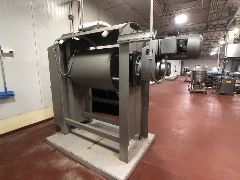 2016 Bundy Baking Solutions Eagle (Shaffer) Horizontal Single Sigma Arm Dough Mixer, Model Eagle SA3, S/N 151015, Rated Capacity 800 LBs / 363 KG, 17.8 cu ft / 504 L, 40 RPM Agitator Speed, DOM: September 2016 (Located in Pittsburgh Approximately 15 Minutes From M Davis Group Auction Showroom)(Sold Subject to Confirmation)