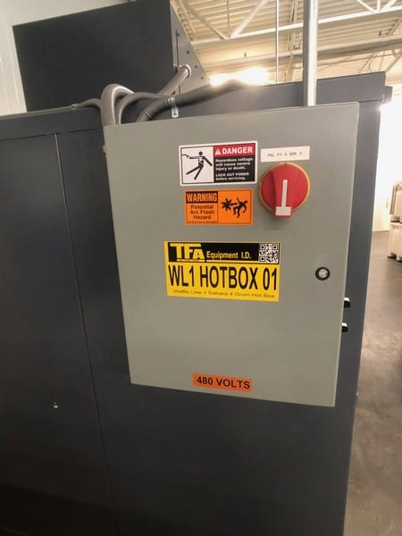 Sahara Industrial Ovens 2-Drum Hot Box (Benko Products), Model 10E4-CS, S/N J131616B, (Located in Pittsburgh Approximately 15 Minutes From M Davis Group Auction Showroom)(Sold Subject to Confirmation)