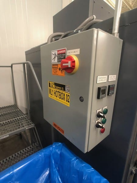 Sahara Industrial Ovens 2-Drum Hot Box (Benko Products), Model 10E4-CS, S/N J131616A, (Located in Pittsburgh Approximately 15 Minutes From M Davis Group Auction Showroom)(Sold Subject to Confirmation)