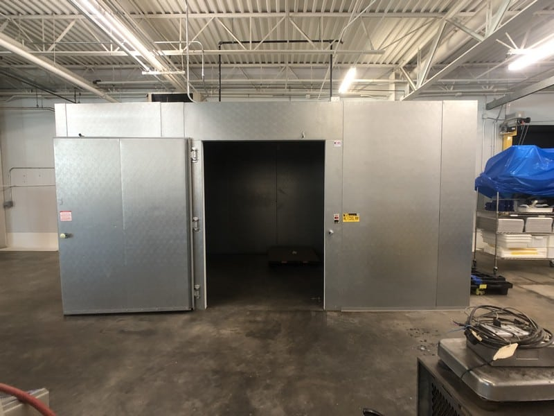 "2016 Carrroll Coolers 11' x 17' x 8'6"" H Walk-In Cooler, S/N CI-259258, Cam-Locking Style Wall Panels with Lag-Down Style Cealing Panels, 2-Fan Evaporative Blowers, 60"" x 84"" H Cooler Door, 12680 BTU, 120V, 1-Phase, DOM: 9-8-2016 (Located in Pittsburgh Approximately 15 Minutes From M Davis Group Auction Showroom)(Sold Subject to Confirmation)"