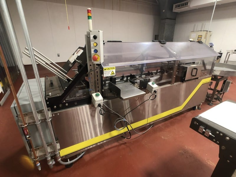 Econoseal Spartan Horizontal Cartoner, Model 10234, S/N 10670, MicroLogix 1000 PLC (Located in Pittsburgh Approximately 15 Minutes From M Davis Group Auction Showroom)(Sold Subject to Confirmation)