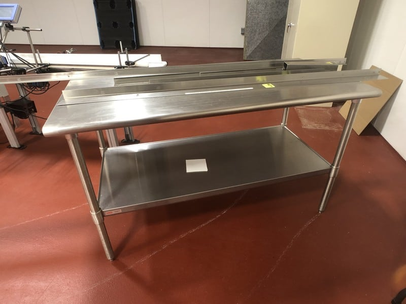 "S/S Table, Approx. 60"" L x 24"" W (Located in Pittsburgh Approximately 15 Minutes From M Davis Group Auction Showroom)(Sold Subject to Confirmation)"