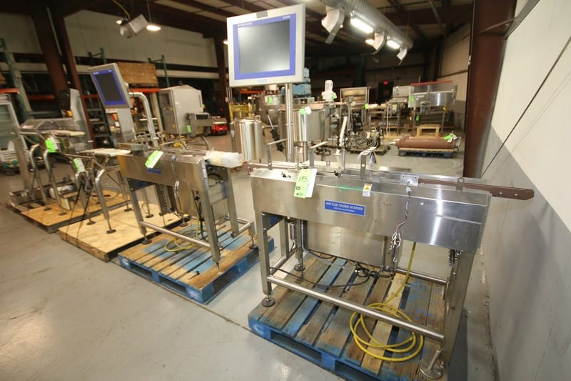 Packaging & Inspection Equipment - Mettler Checkweighers