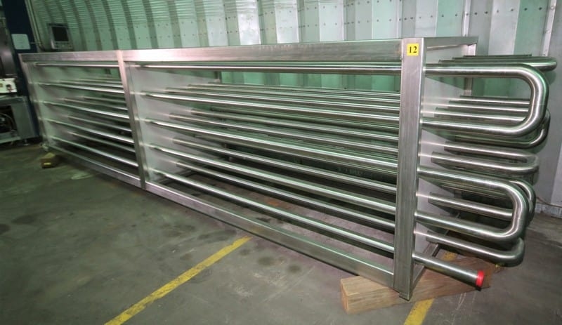 Plate Heat Exchanger - New 2.5 in Rack Holding Tube