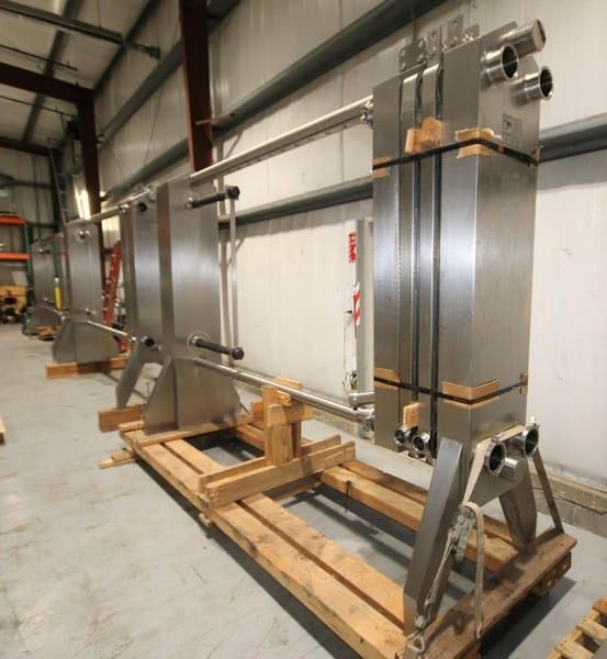 Plate Heat Exchangers - (3) AGC AR51H Plate Heat Exchangers - 1 of 2 Photos