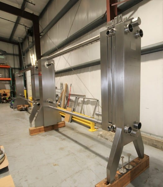 Plate Heat Exchangers - (3) AGC AR51H Plate Heat Exchangers - 2 of 2 Photos