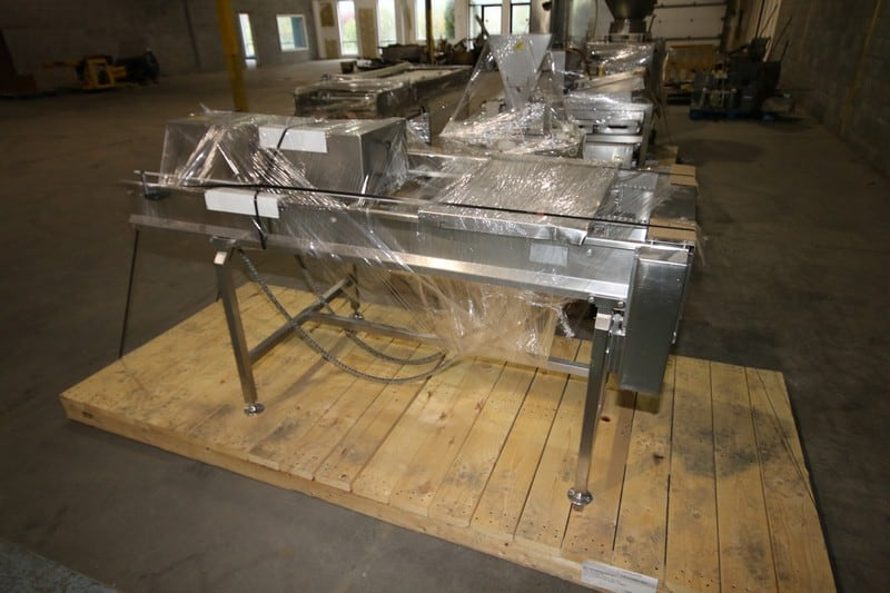 "S/S Conveyor Frames, Aprox. 100"" L x 27"" W and 80"" L x 28"" W"