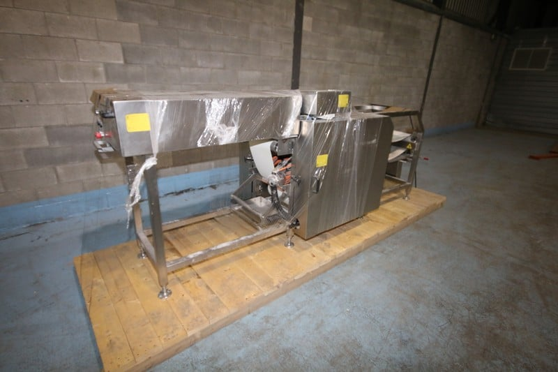 "2008 Matiss S/S Transpositeur, S/N 1037103, Mounted on S/S Frame, with 12"" W Conveyor"