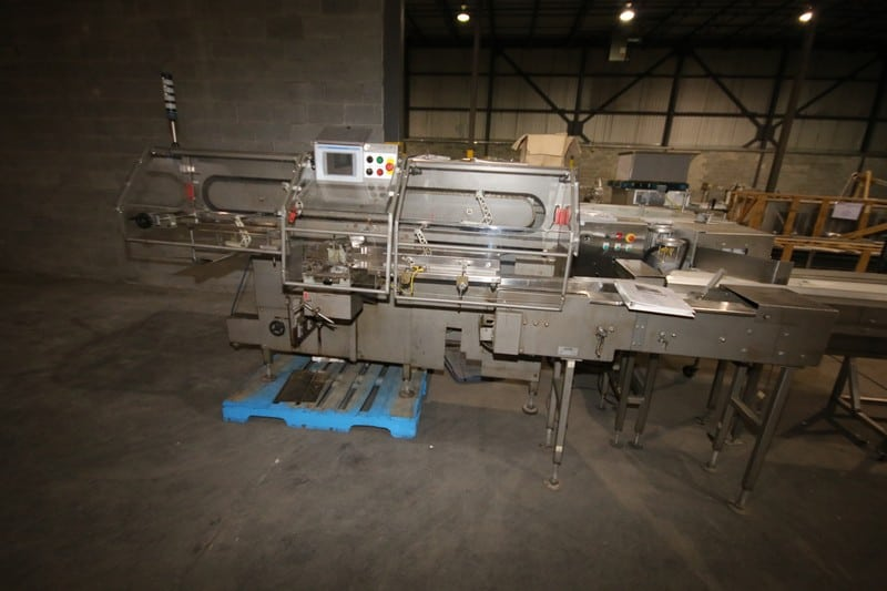 "Formost Fuiji Bagger, M/N GTS-4LH86, S/N 10GTS16W, with Allen Bradley Panelview Plus 700, with Infeed Conveyor and Pack Off Conveyor, Aprox. 150"" L x 10"" W with Control Panel"