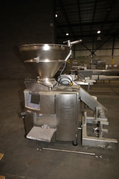 2007 Handtmann S/S Vacuum Filler, M/N VF622, S/N 21970, Voltage 575/3 Phase, 50/50 Hz