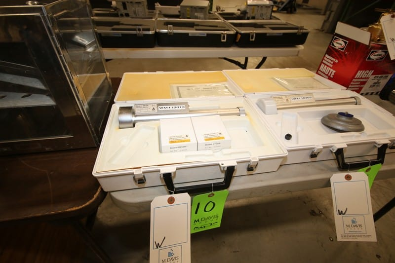 Biotest Hycon Air Sampler, M/N RCS, S/N 26079, with RCS Calibration Set, with Hard Case ***Located in MDG Auction Showroom--Pittsburgh, PA***