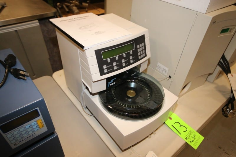 ESA Autosampler, M/N 542, with Operating Manual and Some Parts ***Located in MDG Auction Showroom--Pittsburgh, PA***