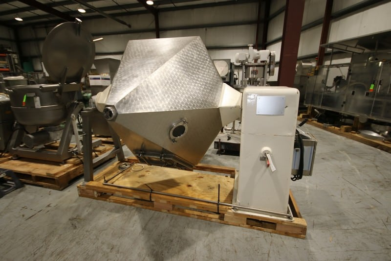 360 Gal. (1340 Ltr.) Butter Churn with 180 Gal. Capacity, Previously used in a French Dairy Operation Run by Nuns. Rebuilt in 2013-2014 by Van Zant of the Netherlands (Rigging & Loading Fee $250.00)