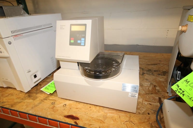 Mitsubishi Chemical Corp. Automatic Solid Sampler, M/N ASC-120S, S/N A75 30597 (NOTE:  Missing Power Cord) ***Located in MDG Auction Showroom--Pittsburgh, PA***