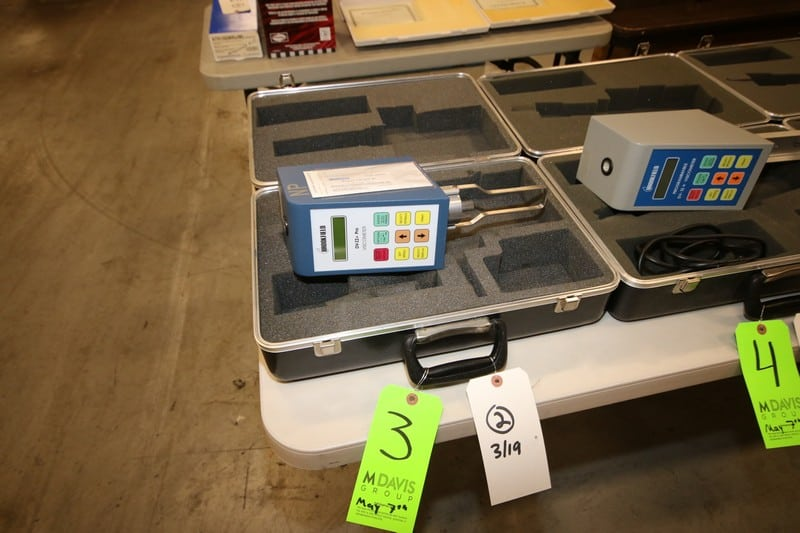 (7) Brookfield Viscometer, M/N DV-II+P, 115 Volts, 50/60 Hz, with Hard Case ***Located in MDG Auction Showroom--Pittsburgh, PA