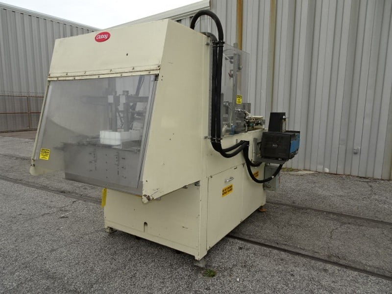 Doboy 751 Tray Former with Nordson Glue Tank; 230v-3ph-60Hz; S/N 92-14229; Optional bottom skid for $350 - Loading $0 (Located in Charleston, SC)