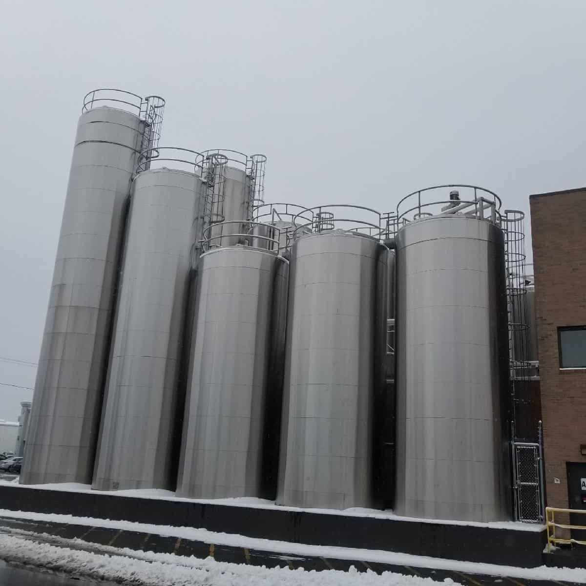 14 Grade-A S/S Silos AuctionCloses on March 14thMassachusetts