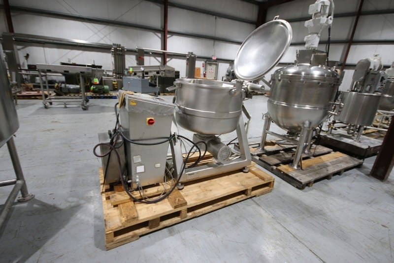"Stephan S/S VCM, M/N VM 300, S/N 723.288.01, 220 Volts, 60 Hz, Mounted on S/S Frame, with S/S Panel, with 33-1/2"" Dia. x 21"" Deep Bowl with Blade(Rigging & Loading Fee $200.00) (Located in Pittsburgh, PA)"