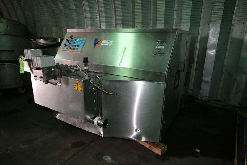 2003 GEA/Niro-Soavi Homogenizer, M/N NS5132H, S/N 4888, with (4) Pistons (W937) (Rigging & Loading Fee $1,000.00) (Located in Pittsburgh, PA)