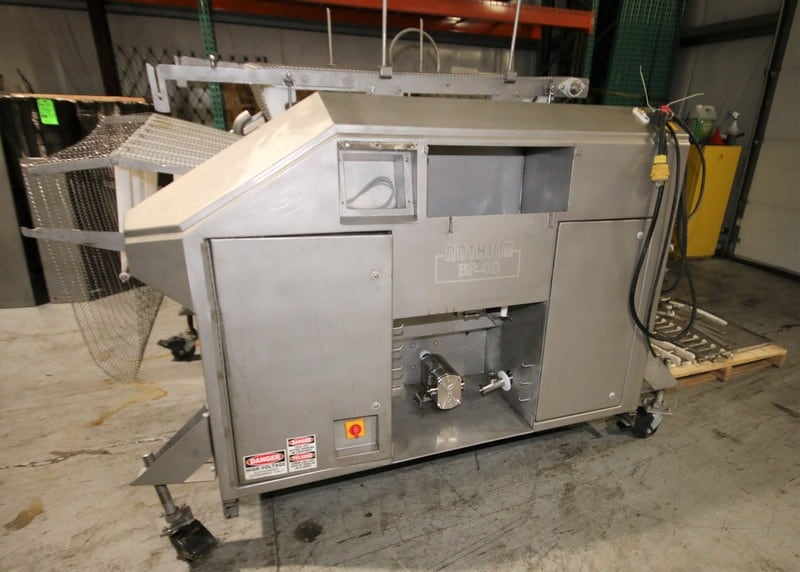 Nothum BP-40 Batter Applicator, Model BP-40, S/N 45680705, with VFDs (Note: Needs Some Conveyor Repairs), (C1/W838)(Rigging & Loading Fee $200.00) (Located in Pittsburgh, PA)