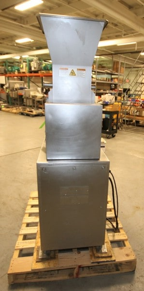 "Beehive / Weiler S/S Deboner / Separator, Model RSBF02, SN 1251, with Dual Auger Feed, 18"" x 18"" S/S Feed Hopper, 460V 3 Phase, (2006 Mfg), Mounted on Casters, Includes Manuals, (W882)(Rigging & Loading Fee $300.00) (Located in Pittsburgh, PA)"