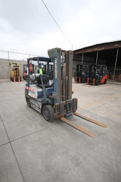 Komatsu 4,170 lb. Sit-Down Propane Forklift, M/N FG255T11, S/N 405344, 1,733.3 Hours, 3-Stage Mast with Side Shift (Forklift 6)