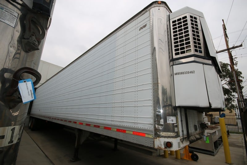 Trailmobile 48' Refrigerated Trailer, VIN #:  PT01ANH3V9000949, MFG. 09-13-1996, G.V.W.R.:  65,000 lbs., with Thermo King Refer (T-10)