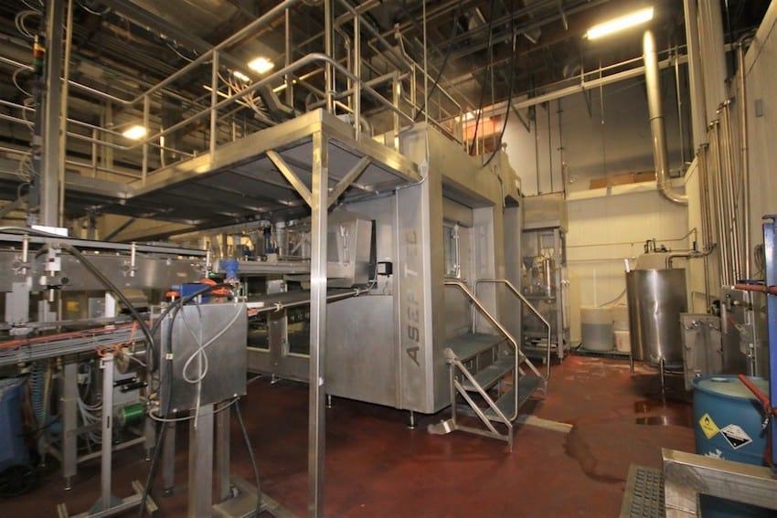 BUY NOW: Aseptic Bottling and Processing EquipmentLocated in California