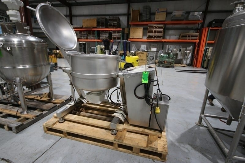 "Stephan S/S VCM, M/N VM 300, S/N 723.288.01, 220 Volts, 60 Hz, Mounted on S/S Frame, with S/S Panel, with 33-1/2"" Dia. x 21"" Deep Bowl with Blade (W918) (Rigging & Loading Fee $200.00) (Located in Pittsburgh, PA)"